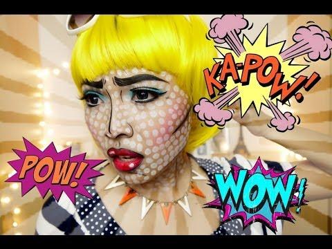 POP ART/Comics Make Up (Halloween 2013)