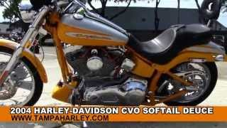 3. 2004 Harley-Davidson CVO Softail Deuce -Used Motorcycle for Sale - Land 'O Lakes, FL