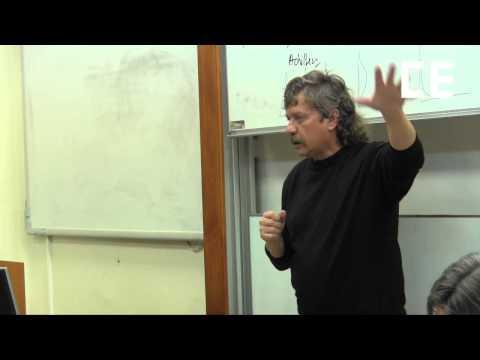 Keller - Seminář Collegia Europaea tentokrát se sociologem Janem Kellerem. Diskutovali jsme jeho knihu Tři sociální světy. FF UK v Praze, 6. 11. 2013.