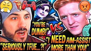 NICKMERCS & Sway *SHOCKED* After Tfue Explains Why He NEEDS Aim-Assist MORE THAN CONTROLLER PLAYERS!
