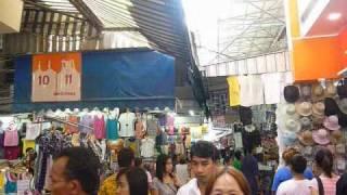 Bangkok Walking In Pratunam Market
