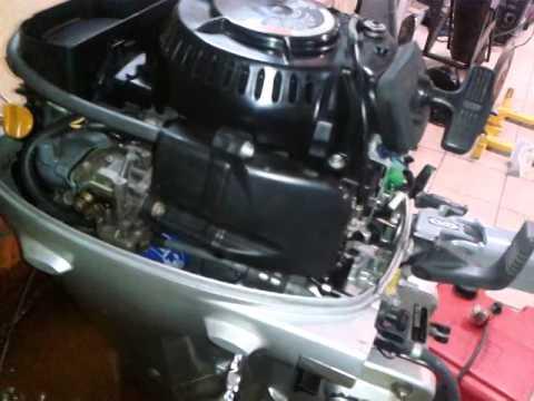 лодочный мотор хонда 20 глохнет на холостых