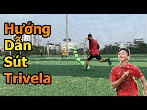 Đỗ Kim Phúc hướng dẫn sút xoáy má ngoài Trivela như Đoàn Văn Hậu U23 Việt Nam và Quaresma - bóng đá - Thời lượng: 4 phút, 47 giây.