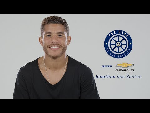 Video: Jonathan dos Santos' Road to LA - driven by Chevrolet