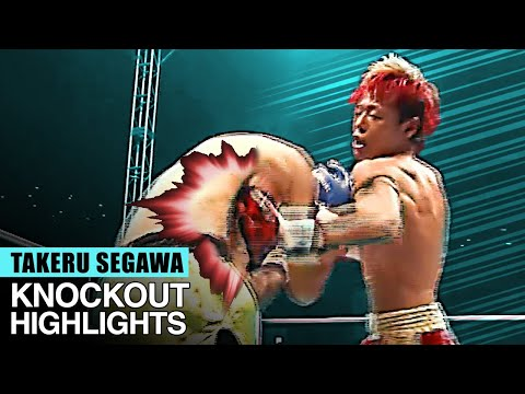 TAKERU SEGAWA | ALL FIGHT KNOCKOUT HIGHLIGHTS - THE NATURAL BORN CRUSHER - 武尊