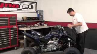 10. Power Commander 5 Install: 2014 Yamaha Raptor 700