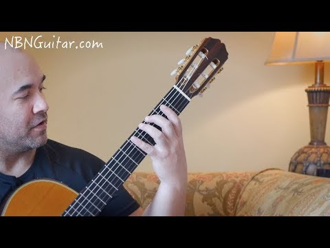 The Only Segovia Scale You Need To Learn | Classical Guitar Lesson | NBN Guitar