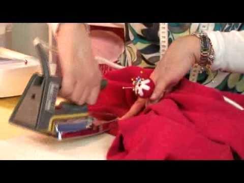 Bastelzeit TV 42 - Taschenkleid Teil 2 - Zusammennähen