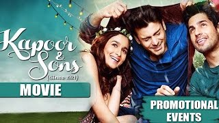 Nonton Kapoor & Sons Movie (2016) | Alia Bhatt, Sidharth Malhotra, Fawad Khan | Promotional Events Film Subtitle Indonesia Streaming Movie Download