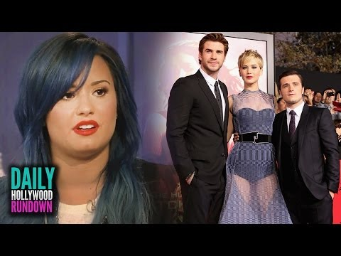 Demi Lovato Talks Miley Cyrus! Taylor Swift Dating Douglas Booth? Jennifer's See-Through Gown!