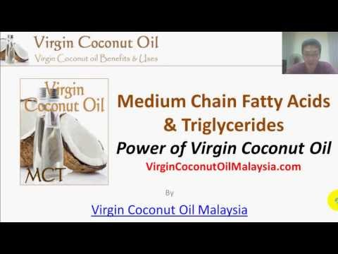 [Präsentation] Medium Chain Fatty Acids & Triglycerides In Virgin Coconut Oil