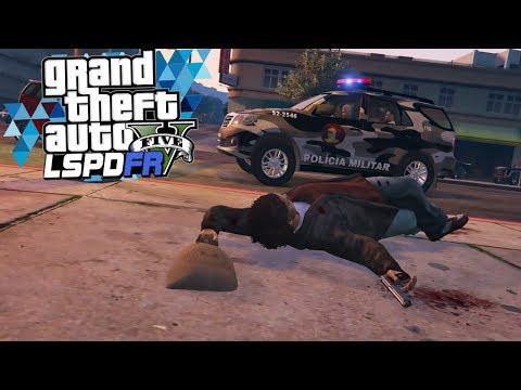 GTA V Rotina Policial - Tratamento Vip bpchoque Rj #56 Gameplay (видео)