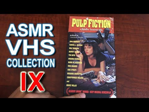ASMR - VHS Movie Collection 9 - Whispering, Mouth Sounds, Letter Tracing, Pulp Fiction