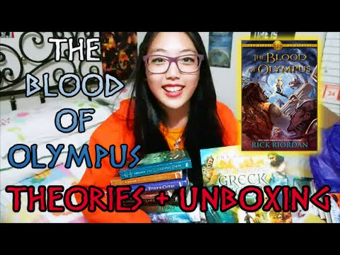 Blood - BLOOD OF OLYMPUS THEORIES! HEROES OF OLYMPUS SWAG! OTHER COOL THINGS MAYBE! please share your theories! also, thank you so, so much to disney hyperion, big honcho media, and rick riordan for...