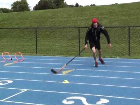 Daniel Milan, Hockey – Off Ice Defensemen Speed and Agility Techniques