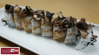 Crazy Mushroom Roll - How To Make Sushi Series by Diaries of a Master Sushi Chef