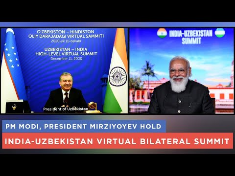 PM Modi, President Mirziyoyev hold India-Uzbekistan virtual bilateral summit