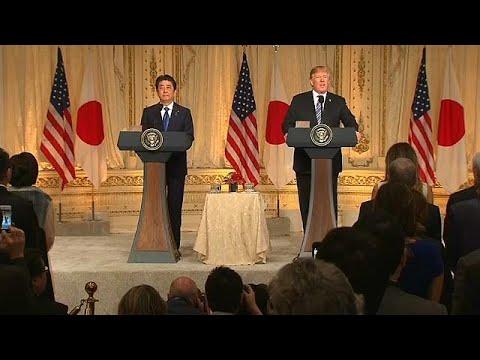 US-Präsident Trump vor Treffen mit Kim Jong Un
