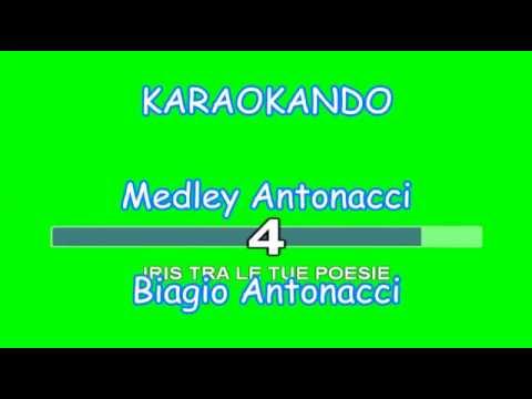 , title : 'Karaoke Italiano - Medley Antonacci - Biagio Antonacci (Testo )'