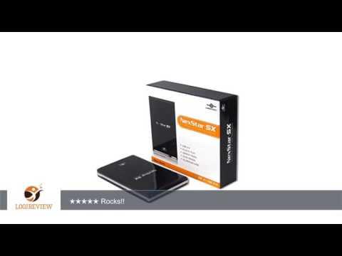 Vantec NexStar SX NST-285S2-BK 2.5-Inch SATA to USB 2.0 External Hard Drive Enclosure (Onyx Black)  