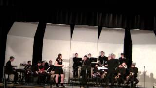Wantagh High School Jazz Ensemble Something's Gotta Give March 31st 2015 - YouTube