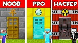 Video Minecraft - NOOB vs PRO vs HACKER : SECRET DOOR in Minecraft ! AVM SHORTS Animation MP3, 3GP, MP4, WEBM, AVI, FLV Juni 2019