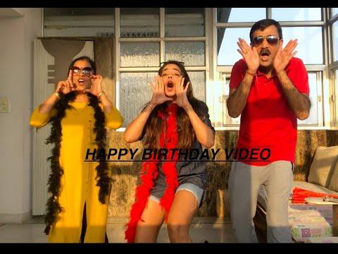 QUARANTINE BIRTHDAY | How to wish someone on birthday | birthday ideas | family wishes | familydance