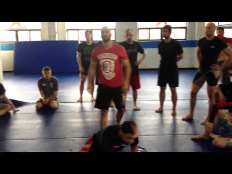 Tristar Gym Lesson with Coach Zahabi. Duck under and Duck under carry