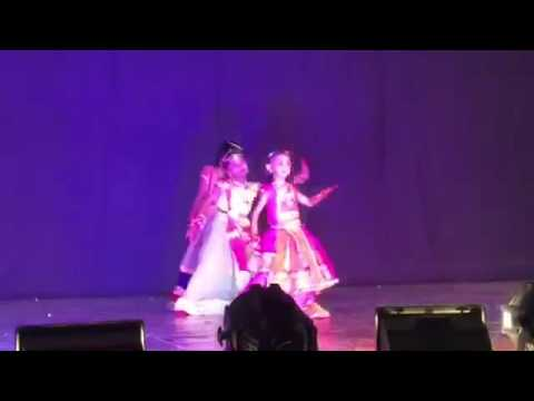 Ravada Hasini 1st Class Medley Group Dance @childrens Day 2015