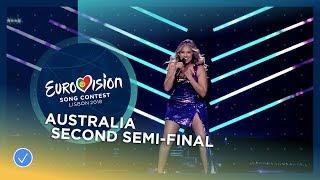 Video Jessica Mauboy - We Got Love - Australia - LIVE - Second Semi-Final - Eurovision 2018 MP3, 3GP, MP4, WEBM, AVI, FLV September 2018