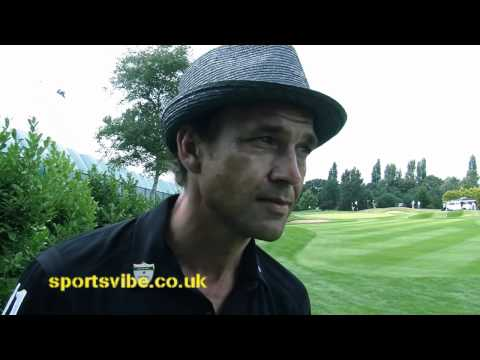 Dougray Scott talks Golf, charity & Hibernian