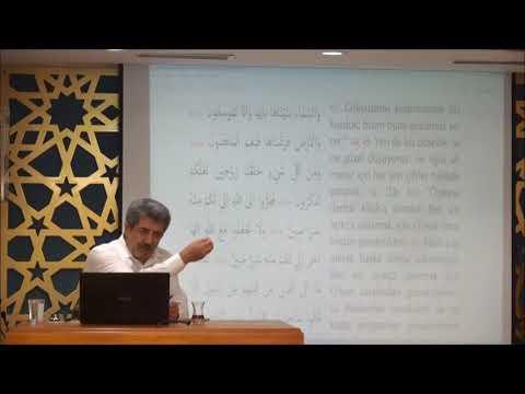 Tuncer Namlı - Zâriyât Suresi  (47 - 60) Ayetlerin Tefsiri