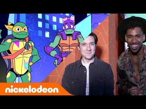 Comic-Con Exclusive 🤩 Rise of TMNT Fans Meet Voice Actors in 360 VR Experience! | #TurtlesTuesday