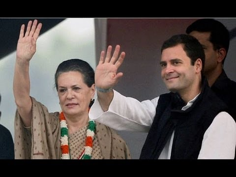 Rahul, Sonia return to Delhi