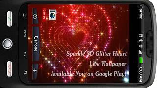 Sparkle Glitter Heart Tunnel YouTube video