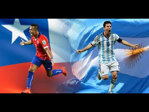 Full Match - Chile Vs Argentina 24/03/2016 - World Cup Qualifiers In 2018 HD