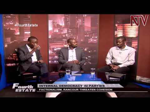 Fourth Estate: Factionalism threatens internal democracy in Uganda's political parties