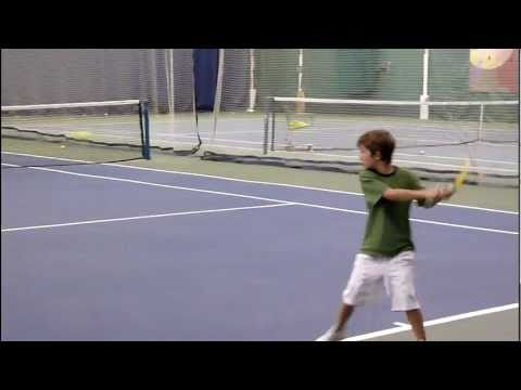 tennis 7 years old anos