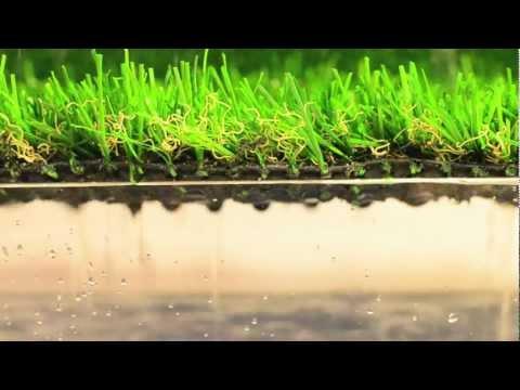 Test Drenaggio erba sintetica per giardini - erba sintetica, erba artificiale
