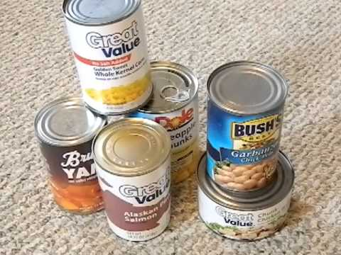 canned food - Discussion about using canned goods to supplement your long term food storage. Looking at the expiration date on the canned goods and which foods are the bes...