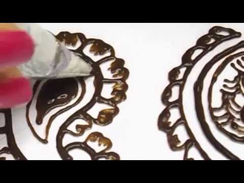 Henna designs henna mango shape henna design tutorial do it yourself diy solutioingenieria Image collections
