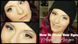 How To Make Your Eyes Appear Larger! | Mariah McLean