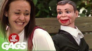 Ventriloquist's Dummy Comes ALIVE !