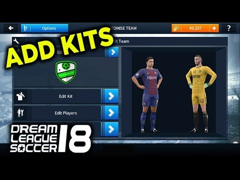 How To Import Kits In Dream League Soccer 2019/18?