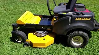 6. Leveling the deck on a Cub Cadet RZT L 46
