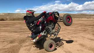 5. Yamaha Yfz450r free riding