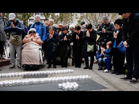 東日本大震災5年、神戸でも黙とう