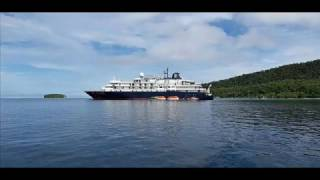 [CALEDONIAN SKY] RAJA AMPAT PAPUA DESTROYED BY AN IDIOT CAPTAIN AND CREWS