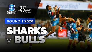 Sharks v Bulls Rd.1 2020 Super rugby video highlights | Super Rugby Video Highlights