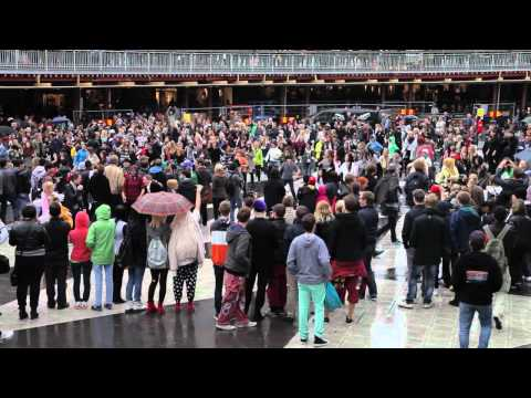PSY – Gangnam Style (강남스타일) FLASHMOB Stockholm 2012